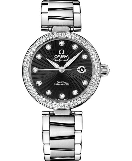 Omega 425.35.34.20.51.001 De Ville Ladymatic Watch 34mm