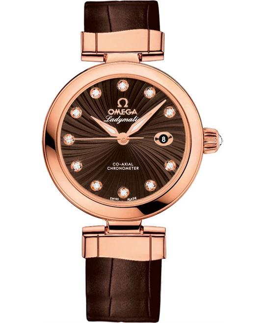 đồng hồ Omega 425.63.34.20.63.001 De Ville Ladymatic Watch 34mm