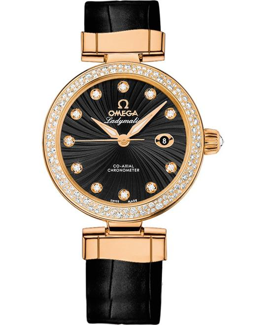 Omega De Ville 42568342051002 Ladymatic 34mm