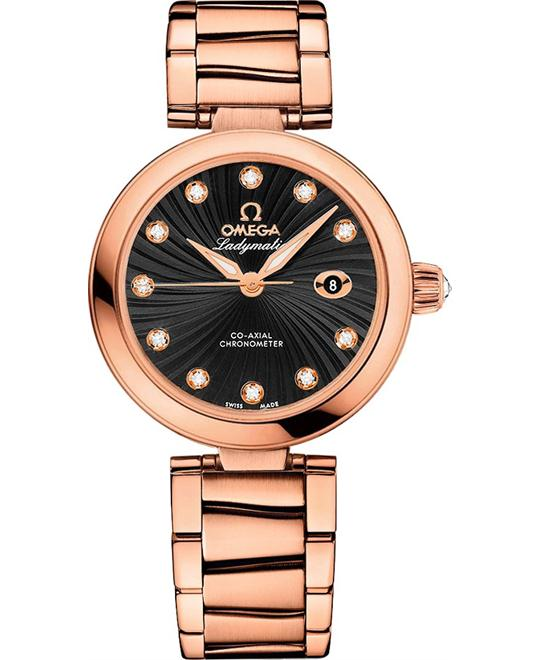 Omega 425.60.34.20.51.001 De Ville Ladymatic Watch 34mm