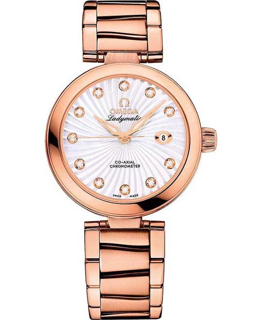 Omega 425.60.34.20.55.001 De Ville Ladymatic Watch 34mm