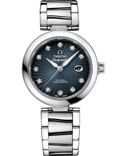 Omega 425.30.34.20.56.001 De Ville Ladymatic Watch 34mm