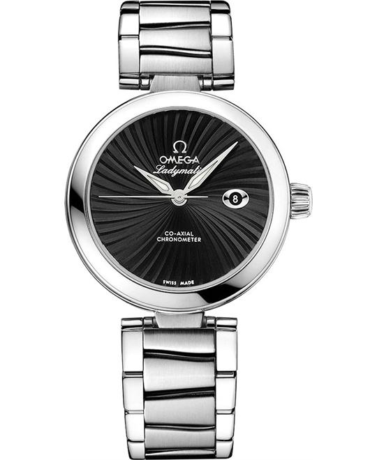 Omega 425.30.34.20.01.001 De Ville Ladymatic Watch 34mm