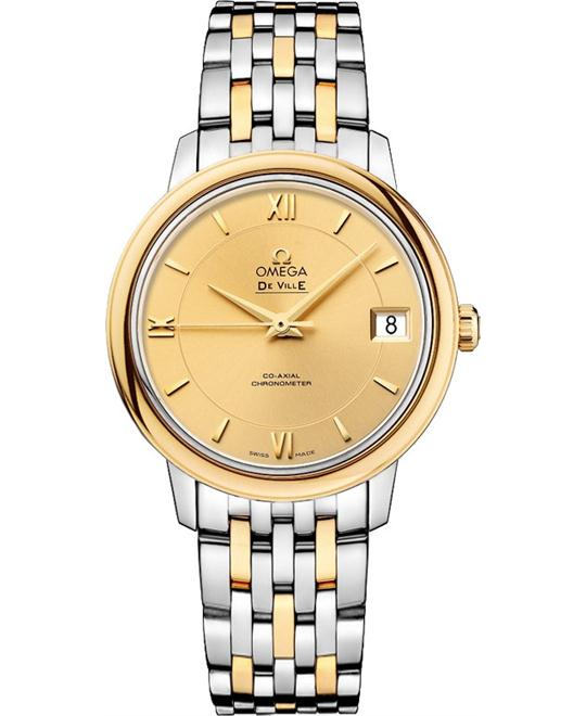 OMEGA De Ville Prestige Automatic 424.20.33.20.08.001 Watch 32.7mm