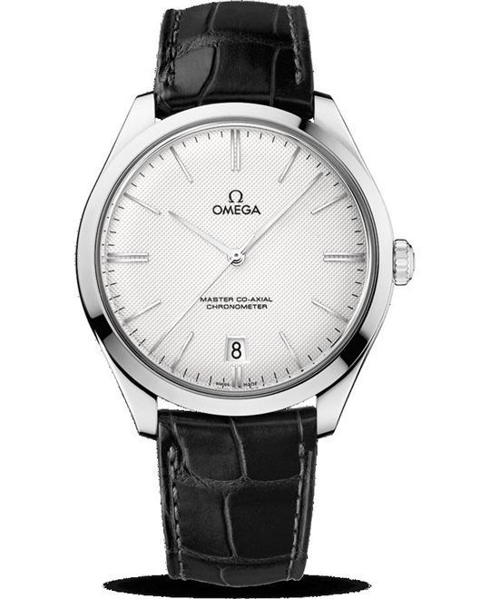 OMEGA De Ville Trésor Silver Dial 18k White  Watch 40mm