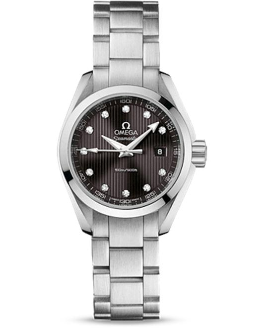 OMEGA Seamaster Aqua Terra Diamond Dark Watch 30mm