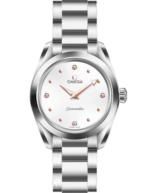 OMEGA Seamaster Aqua Terra Ladies Watch 28mm