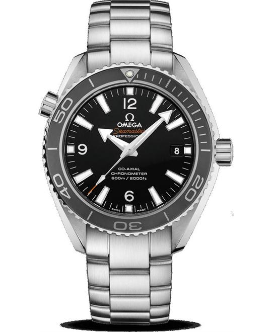 OMEGA Seamaster Planet Ocean Black Dial Men's Watch 42mm