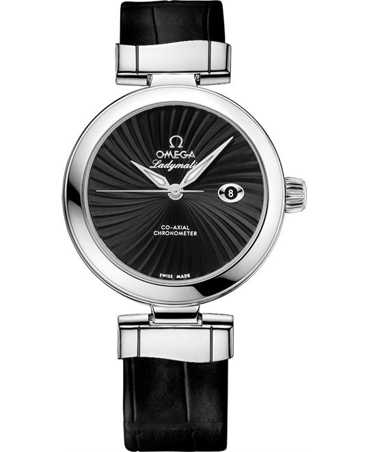 đồng hồ Omega 425.33.34.20.01.001 DeVille Ladymatic Watch 34mm