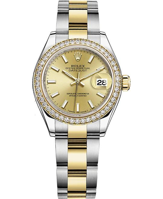 OYSTER PERPETUAL 279383RBR LADY-DATEJUST 28