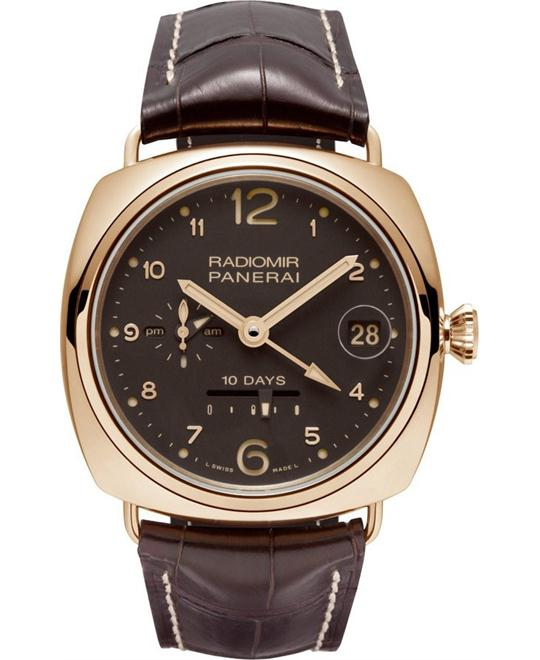 Panerai 10 Days GMT Oro Rosso 18kt PAM00497 45mm