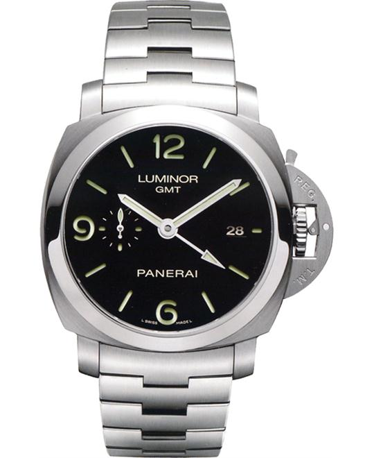 Panerai Luminor 1950 3 Days GMT Watch PAM00329 44mm