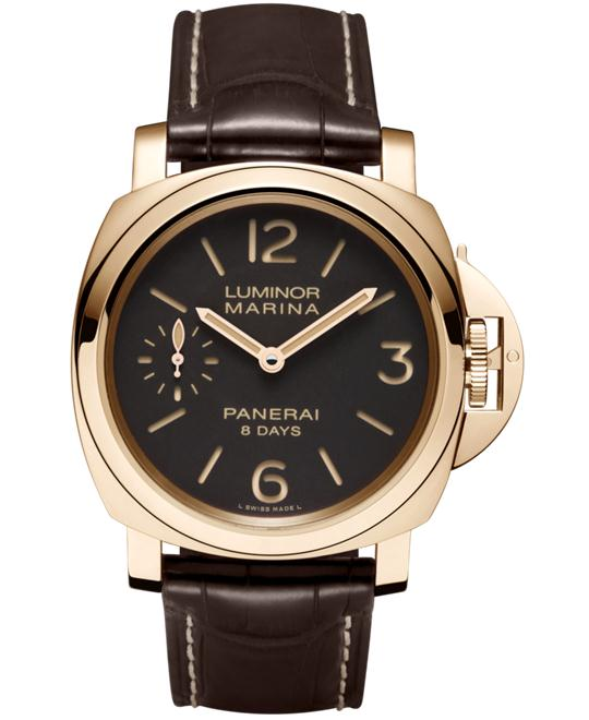 Panerai Luminor Marina 18kt Rose Gold PAM00511 44mm