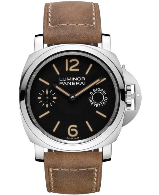 Panerai Luminor Marina 8 Days Leather PAM00590 44mm