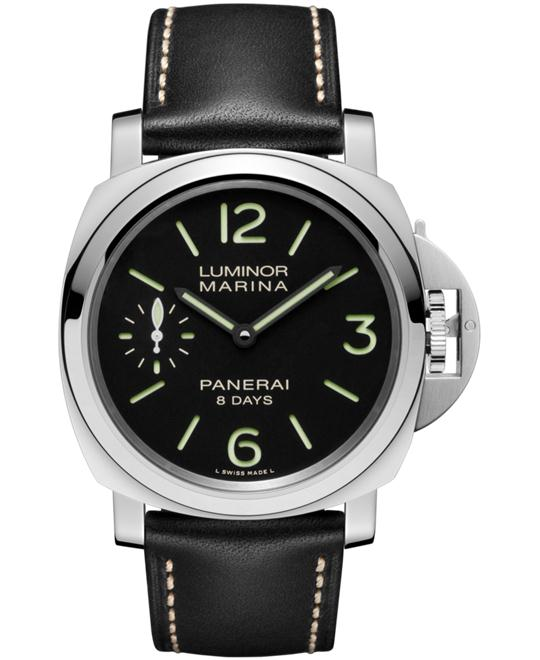 Panerai Luminor Marina Black Leather PAM00510 44mm