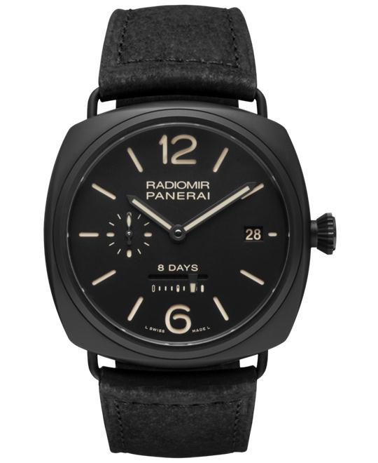 Panerai Radiomir 8 Days PAM00384 Men's Watch 45mm