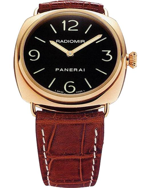 Panerai Radiomir Base 18kt Rose Gold PAM00231 45mm