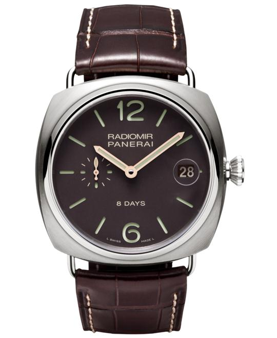 Panerai Radiomir PAM00346 Brown Dial Men's Watch 45mm