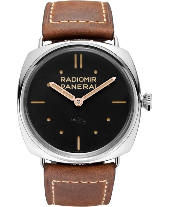 Panerai Radiomir PAM00425 Black Dial Men's Watch 47mm