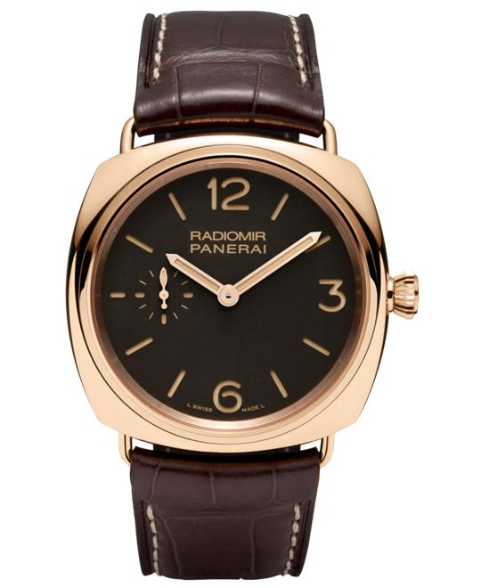 Panerai Radiomir PAM00439 18kt Rose Gold 42mm