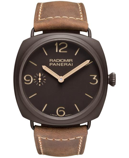 Panerai Radiomir PAM00504 Brown Dial Men's Watch 47mm