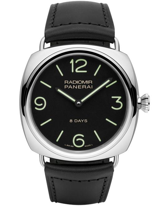 Panerai Radiomir PAM00610 Black Leather Strap 45mm