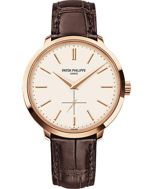 PATEK PHILIPPE Calatrava 18k Rose Gold Watch 38mm