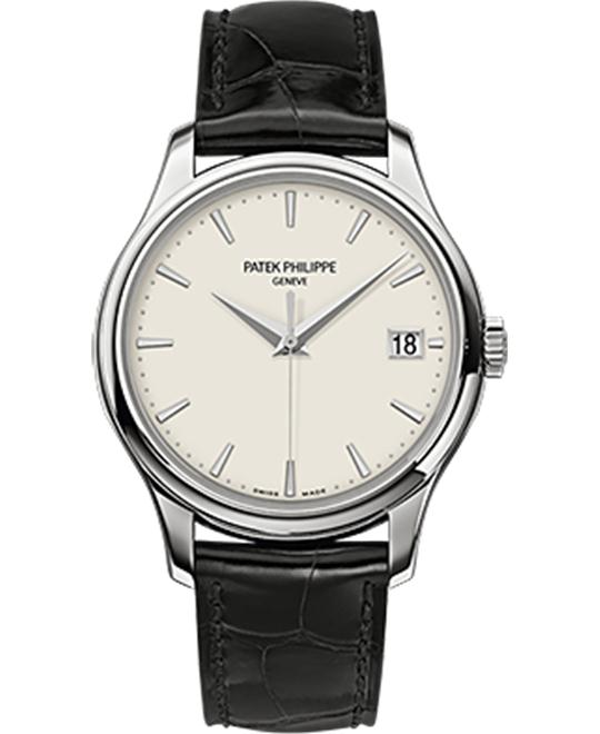 PATEK PHILIPPE Calatrava Mechanical Ivory Watch 39mm