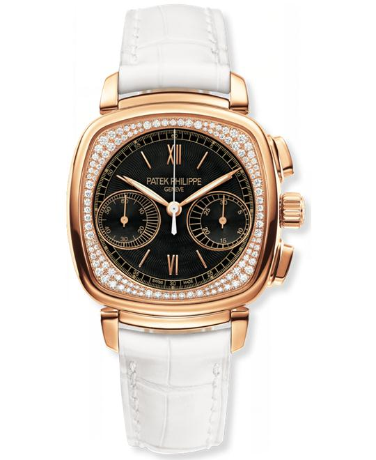 Patek Philippe 18k Rose Gold Chronograph 35mm x 39mm