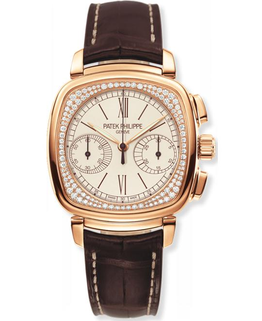 Patek Philippe Ladies 18k Rose Gold  Diamond 35mm x 39mm