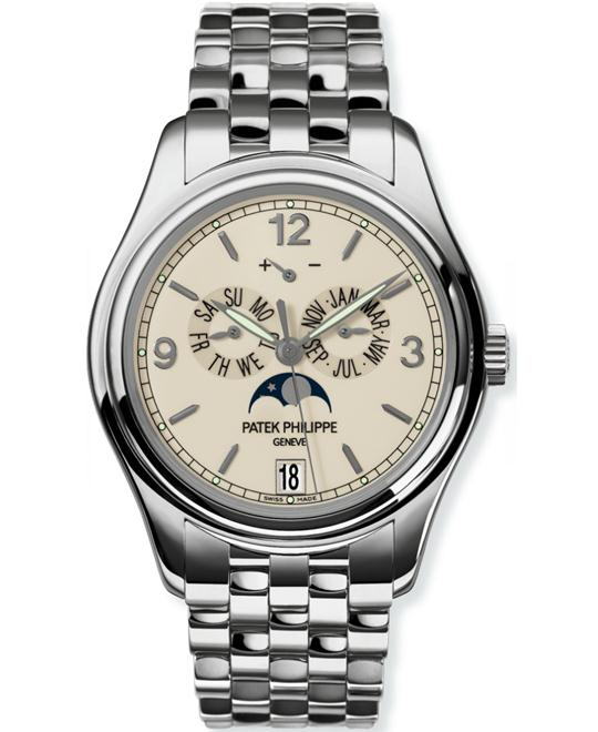Patek Philippe Men's 18k White Gold Automatic 39mm