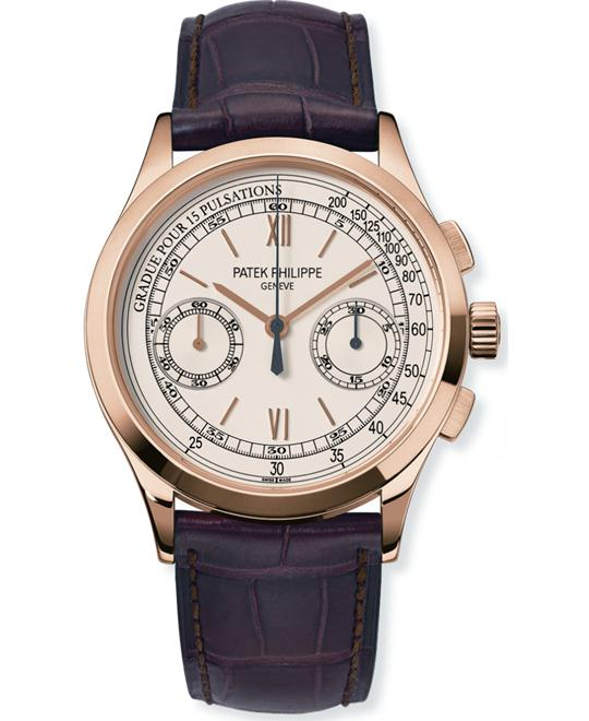 Patek Philippe Men's 18k Yellow Gold Chronograph 39mm