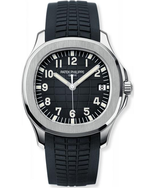Patek Philippe Mens Stainless Steel Arabic Rubber 40mm