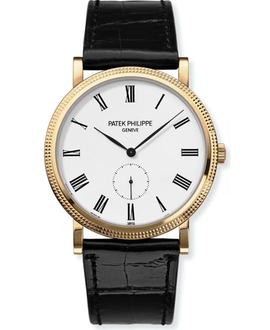 đồng hồ Patek Philippe 5119J-001 Yellow Gold Mens Black Leather 36mm
