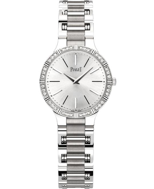 Piaget Dancer 18K White Gold Quartz G0A38052 28mm
