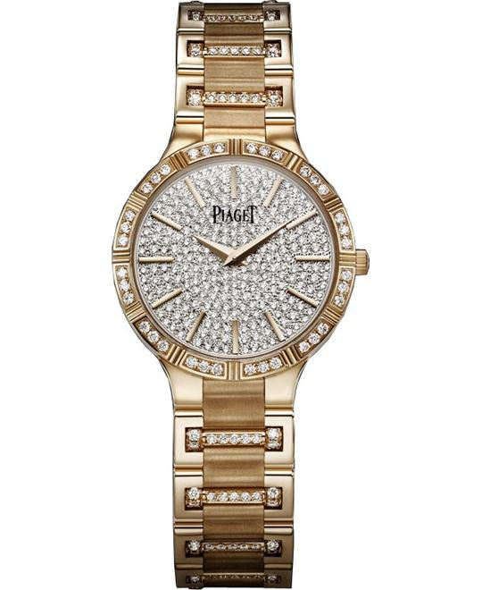 Piaget Dancer Rose Gold Quartz Watch 28mm