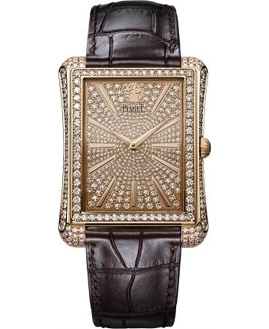 Piaget Emperador Rose Gold Diamonds G0A33076 36x46mm