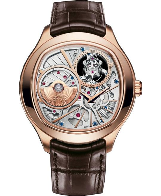 Piaget Emperador Skeleton 18K Rose Gold G0A38042 46mm