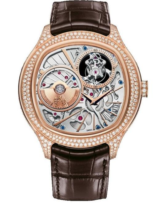 Piaget Emperador Skeleton 18K Rose Gold G0A38058 46mm