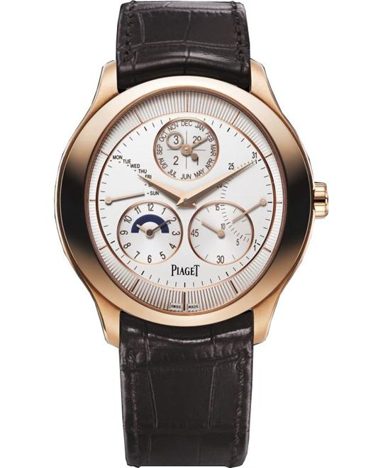 Piaget Gouverneur 18K Rose Gold G0A40018 43mm