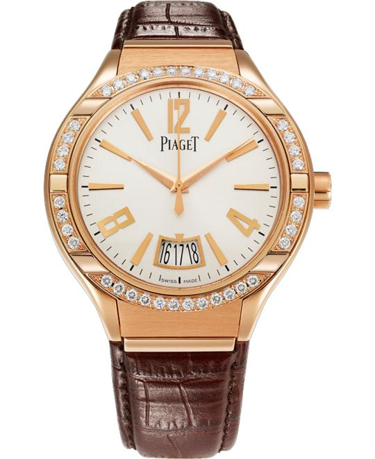 Piaget Polo 18K Rose Gold & Diamonds G0A38159 43mm