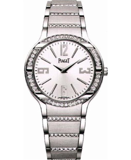 Piaget Polo 18K White Gold Diamond G0A36233 32mm
