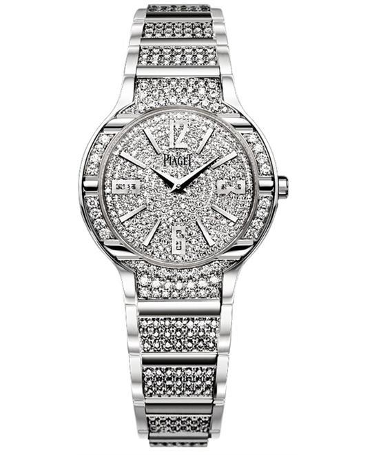 Piaget Polo Diamonds Quartz Watch G0A36234 32mm