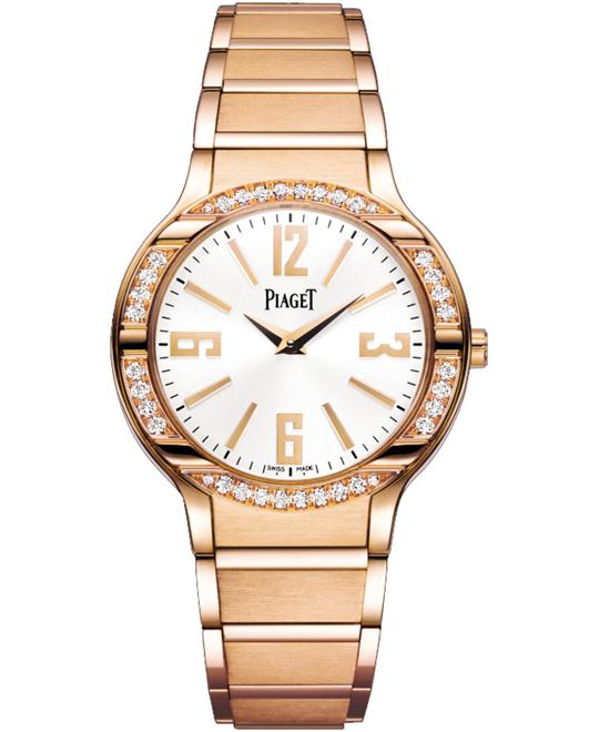 Piaget Polo Diamonds Rose Gold G0A36031 32mm