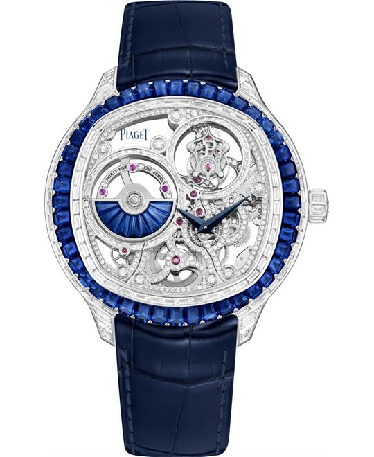 Piaget Polo G0a45041 Emperador 18K White Gold Watch 49mm