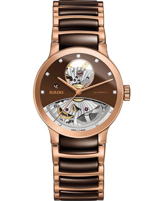 đồng hồ RADO Centrix Open Heart Diamond Auto Watch 33mm