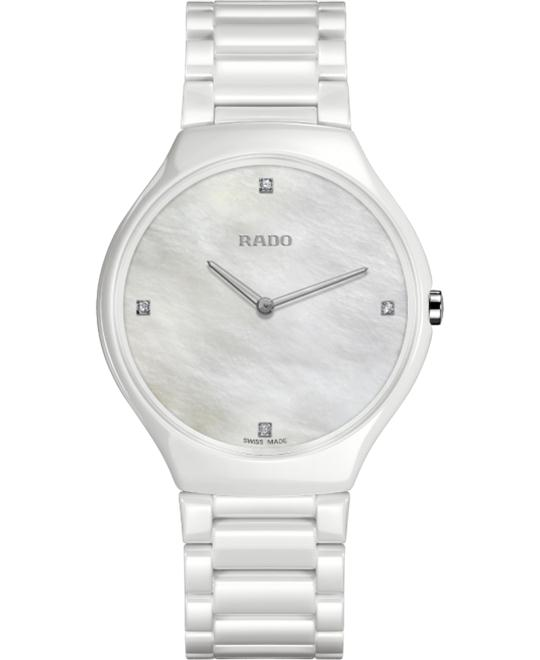 đồng hồ Rado True Thinline Diamonds Quartz L 39mm