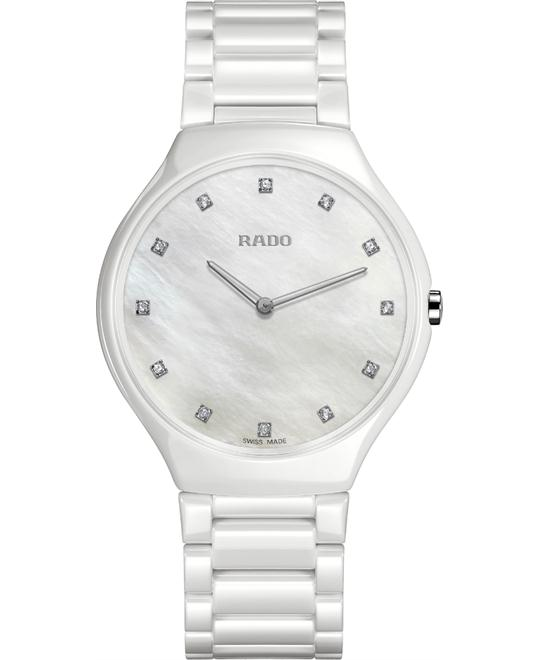Rado True Thinline Diamonds Watch 39mm