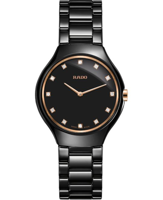 đồng hồ Rado True Thinline Quartz Diamonds S 30mm