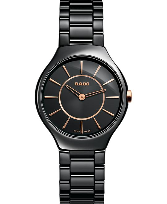 đồng hồ Rado True Thinline Ceramic Watch 30mm